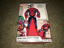Spider-Man: Marvel - Comfy Throw Character Blanket with Sleeves Snuggie *NIOB*