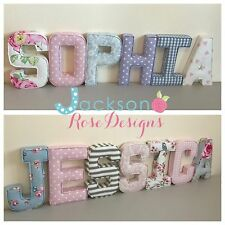 Baby Name Letters, Handmade Nursery name, personalised, girl, boy