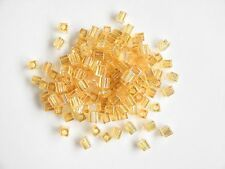Miyuki Square Transparent Rainbow Tan Seed Beads (cubes) 3.5-3.7mm(20g)