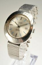 Longines Admiral Automatic Mid Century Mens Watch Stainless Mechanical Stylish