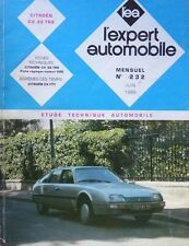 Revue technique CITROEN CX 22 TRS RTA EXPERT 232 1986
