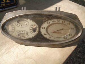 1934 Plymouth Speedometer Gauge Cluster Dash Insert Coupe Sedan PE Deluxe Custom