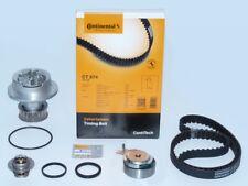 CONTI Zahnriemen + Spannrolle Wasserpumpe Thermostat OPEL ASTRA MERIVA COMBO 1.6