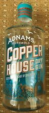 Adnams Copper House Dry Gin Southwold Unusual Empty Bottle Craft Gin FREEPOST