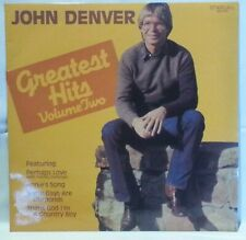 JOHN DENVER - vintage vinyl LP - Greatest Hits Volume 2