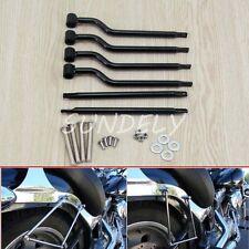 Refit Saddle bag Mounting Kit Support Bar Brackets Universal FAST Motorcycle