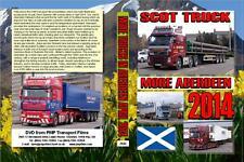 2846. Aberdeen. UK. Trucks. April 2014. More Aberdeen lorries clog the roads to