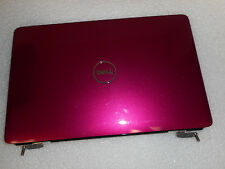 TDPGG GENUINE Dell Inspiron 1545 1546 Pink LCD LID Cover W/ Hinges 0TDPGG *03*