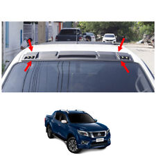 2015 16 17 LED Front Roof Spoiler Cover Black 1 Pc Fits Nissan Np300 Navara D23
