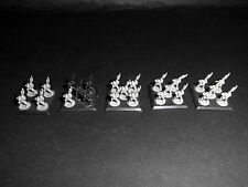Warhammer EPIC 40,000 Necron Warriors [Pack of 5 stands] Plastic.