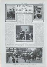 1901 Estampado Coronación William Mckinley I Emperador Estados Unidos