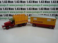 PIN13B + PIN26B 1/43 IXO CIRQUE PINDER  ENSEMBLE GMC Fourrage administration