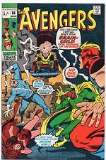 THE AVENGERS #86 Marvel Comics 1971 British Price VF