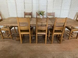 Oak Farmhouse Table Products For Sale Ebay