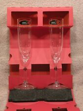Riedel Vinum Champagne, Set 2 Crystal Glasses, NEW In Box, #6416/08, FREE SHIP!