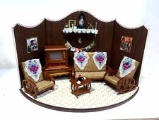 Miniature Caribbean Vignette Living Room Set...VCV01