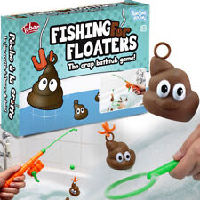 FISHING FOR FLOATERS BATH POO GAME TOY BOYS GIRLS NOVELTY GROSS FUN GIFT PRESENT