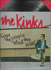 THE KINKS  Give The People What They Want popfolio