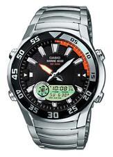 Relojes de pulsera fecha Casio de acero inoxidable