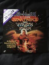 Star Trek 2 The Wrath Of Khan Japanese NTSC LaserDisc LD OBI