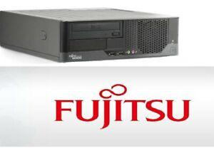Fujitsu Esprimo E7935 0-Watt, 3.16 GHZ,8 GB RAM,500 GB HDD, 128 GB SSD, SFF