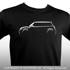 AUTOTEES CAR T-SHIRT - FOR BMW MINI COOPER S ONE ENTHUSIASTS