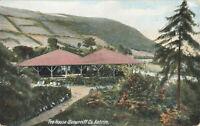 Rare Vintage Postcard - The House Glenarriff, Co. Antrim - Northern Ireland