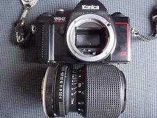 APPAREIL PHOTO KONICA  TCX DX ET OBJECTIF TAMRON  MACRO 70/210
