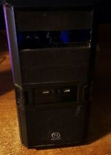 AMD Custom Made Desktop Office/Light Gaming PC Black Tower ATX USED