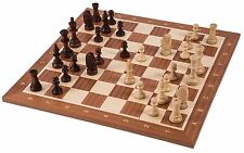 SQUARE - Pro Wooden Chess Set No. 5 - EUROPE - Chessboard & Chess Pieces