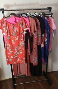 Womens Ladies Clothes Bundle Size 12 Cardigan Dress Blouse Shirt Top Shorts N2