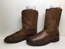MENS JC BOOTS WESTERN ROPER BROWN BOOTS SIZE ??