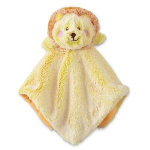 Lion Security Blanket Animal Adventure Baby Gift, Yellow, Orange Shower, B11 MP