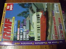 µ? revue RMF n°408 Autorail ABJ 1 & 2 XRABD 6247 ABV Scierie BB4800 Pacific 231
