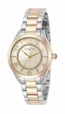 Invicta Women's Angel 31109 33mm White Dial Stainless Steel Watch