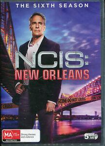 NCIS New Orleans The Sixth Season 6 Six DVD NEW Region 4