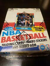 1986-87 Fleer Wax Basketball Box, Certified By BBCE, Michael Jordan Rookie