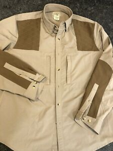 L. L. Bean NWOT Men's Shooting Hunting Shirt Size M, Perfect Condition