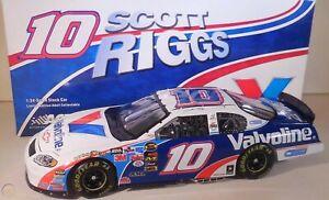 SCOTT RIGGS 2005 VALVOLINE #10 1/24 ACTION DIECAST CAR 1/816 SUPER SUPER RARE