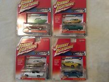 2016 JOHNNY LIGHTNING MUSCLE CARS USA - Lot of 4 - New