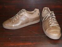New Mens Tsubo Acheron Porter Brown Sporty Sleek Sneaker Trainer Lace Up Shoes