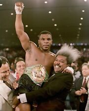 MIKE TYSON & DON KING 8X10 PHOTO BOXING PICTURE