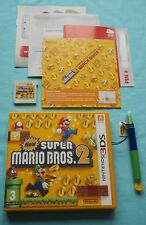 New Super Mario Bros 2 et New Super Mario Bros stylet nintendo 3 DS 2 DS UK PAL