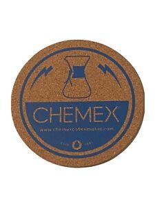 "Chemex 5.75"" Diameter Cork Coaster Coffee Pour Over"