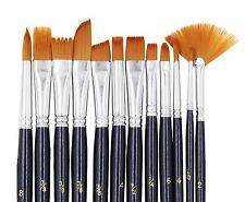 Paint Brushes Laniakea 12pcs Paint Brush Set for Watercolor/Oil/Acrylic/Craft...