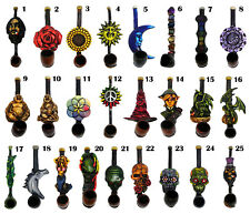 One Dozen (12 pcs) Assorted Handmade Tobacco Smoking Small Hand Pipes Wholesale