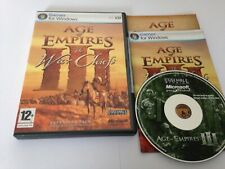 Age Of Empires III 3 Add On The War Chiefs PC CD ROM Game World Post! Microsoft