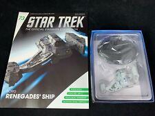 Tellarite Cruiser #115 Star Trek Eaglemoss Engl nave espacial modelo de metal