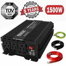 ERAYAK 8102U 12V 1500W/3000W Watt DC to AC Power Inverter For Home/RV/Van w/USB