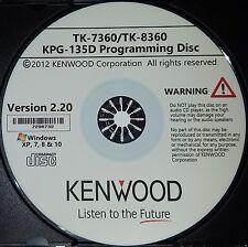 Kenwood KPG-135D Version 2.20 for TK-7360 & TK-8360